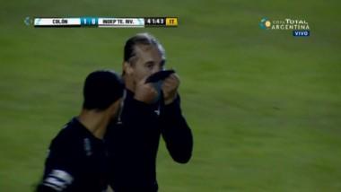 Colón ganó 1-0 con gol de Bastía y enfrentará a Huracán en 16vos.