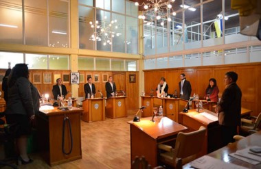 Un minuto de silencio. El Concejo Deliberante de Trelew hizo una pausa para recordar al exsenador.