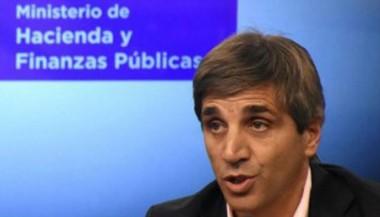 Ministro de Finanzas Luis Caputo