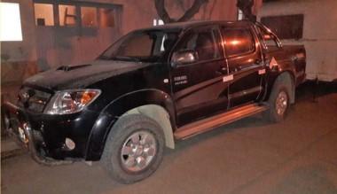 La Toyota secuestrada por la Policía no tenía papeles y era buscada.