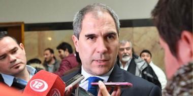 Pablo Oca, ministro de Economía de la provincia.