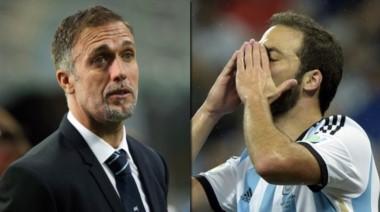 Batistuta durísimo con Higuaín por los goles errados en las tres finales.