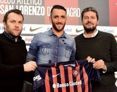 Rodríguez, junto a Romeo y Lammens,  fue presentado en conferencia de prensa. Está a disposición de Aguirre para el inicio de la pretemporada.
