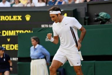 Federer suma todos estos récords en los Grand Slam: 18 títulos, 28 finales, 42 semis, 50 cuartos, 58 octavos y 319 triunfos.