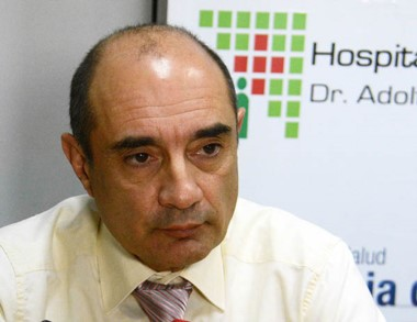 Doctor Jorge Vecchio, director del hospital zonal Adolfo Margara.