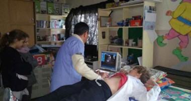 Integrantes del cuerpo médico del Departamento de Zooantroponosis, realizó los controles.