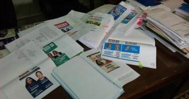 Las boletas con los candidatos a diputados nacionales que serán elegidos el próximo 13 de agosto.