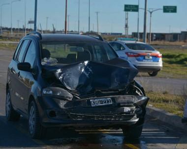 Ocurrió en el cruce de la avenida que da ingreso a Trelew por el norte con la ruta nacional 25.