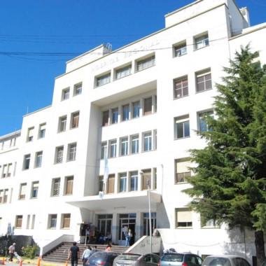 El herido está internado en el Hospital Regional de Comodoro