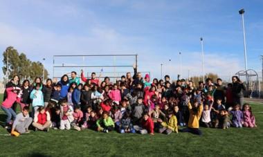 Unos 150 chicos de Trelew  y Puerto Madryn disfrutaron de la movida que organizó el SEC para estas vacaciones.