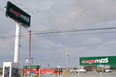 El supermercado donde ocurrió el hecho está en el sudoeste de Madryn