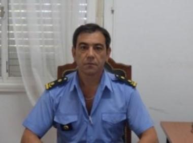 Comisario Claudo Terrón (foto ADNSur)