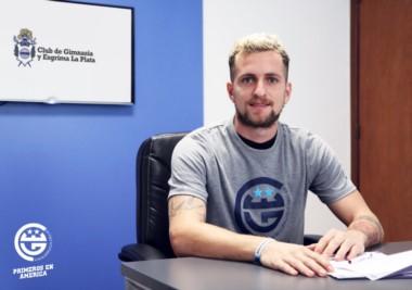 Nicolás Colazo ya firmó su contrato con Gimnasia y jugará por 1 año a préstamo en el equipo de Mariano Soso.