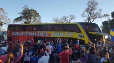 El plantel de Boca Juniors ya está en Paraguay para realizar la pretemporada.
