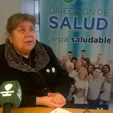 Graciela Lencinas explicó el trabajo que llevan adelante.