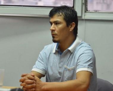 Expectante. Lucio Martín Bustamante, condenado por lesiones graves.