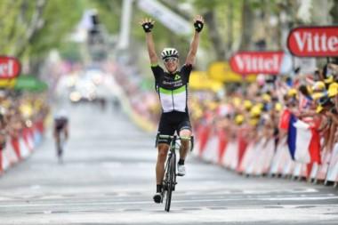 El noruego Edvald Boasson Hagen gana la 19ª etapa del Tour de Francia.