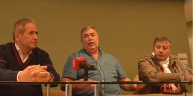 Palazzo, a la izquierda, coincidió con González sobre el diagnóstico crítico sobre las políticas nacionales.