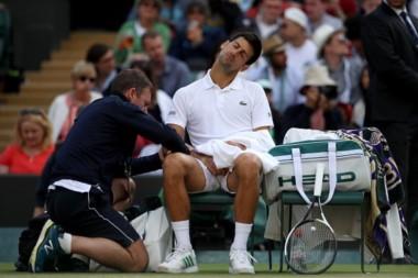Novak Djokovic anuncia que no jugará más esta temporada.