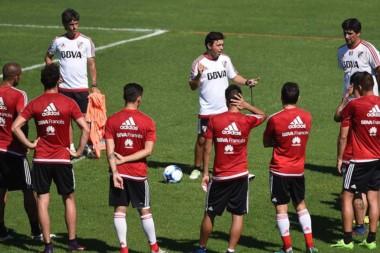 Gallardo le marcó la cancha a Enzo Pérez, el refuerzo estrella de River.