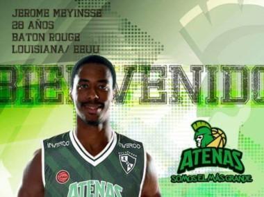 Atenas se sigue armando: Jerome Meyinsse, flamante campeón con San Lorenzo, es el nuevo refuerzo