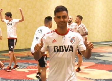 """El """"Pity"""" expresó que quiere continuar en River para ganar la Libertadores."""