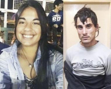 Sebastián Wagner, (derecha) había sido condenado por violación y al momento del homicidio de Micaela, gozaba del beneficio de la libertad condicionada.