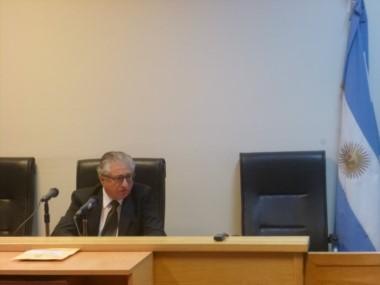 Colabelli fue recusado por la defensa de la imputada (foto @FiscaliaEsquel)