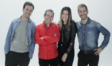 El staff de Conectados, el nuevo  programa de Canal 7 de Rawson.