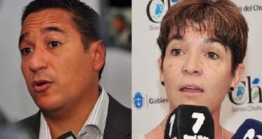 Sergio Combina y Gladys Harris.