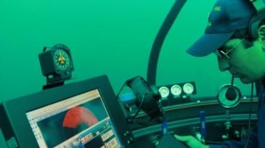 El submarino inició sus operaciones en el Lago Nahuel Huapi
