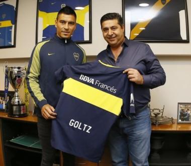 Paolo Goltz, el primer refuerzo del campeón, cumplió la revisión médica y firmó contrato por 3 años.