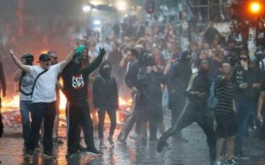 Se registraron violentas protestas en contra de la Cumbre del G20.