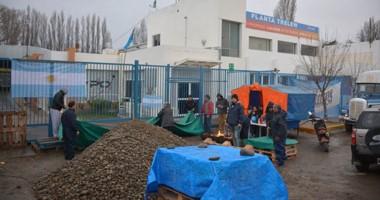 Los exoperarios de la empresa siguen con la expectativa de poder utilizar la maquinaria de la fábrica.