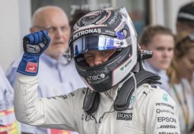 Valtteri Bottas se adueñó de una nueva pole en la Fórmula 1.