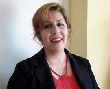 Protagonista. Lidia Reyes, una de las puntales del grupo de ayuda.