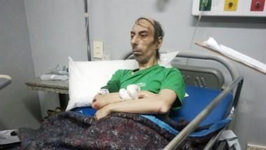 Roberto Princic fue hallado deambulando por la zona, con lesiones en su cuerpo.