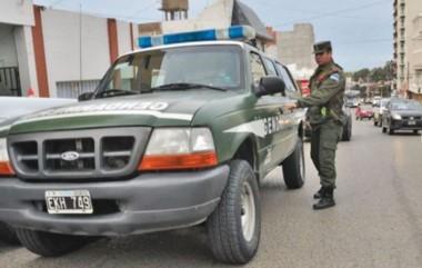 El allanamiento fue realizado por Gendarmería Nacional (foto ADNSur)