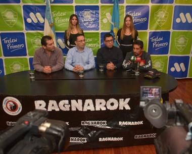 La conferencia de prensa con Alejandro Vargas, Adrián Maderna, Mauricio Soto y Fabricio Arévalo.