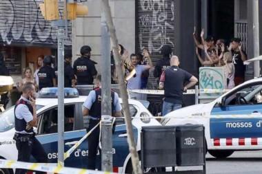 Un detenido por el atentado terrorista de Barcelona.