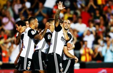 Valencia empezó con victoria gracias a un gol de Zaza.