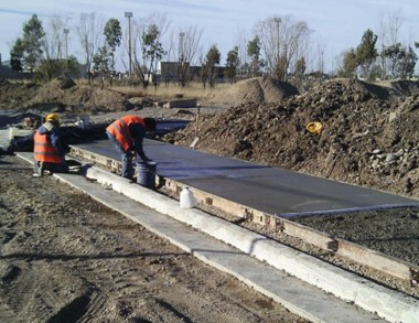 Los trabajos incluyen la obra del pavimento.