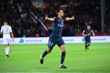 Pastore anotó un tanto en la goleada de PSG sobre Toulouse.