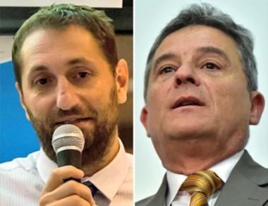 Versus. Álvarez de Celis (izquierda) de nuevo criticó a Bortagaray.