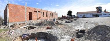 Construcción. La inversión en la esperada obra, que avanzó mucho, supera los nueve millones de pesos.