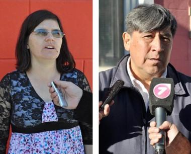 Dúo. Ortiz (izquierda) y Espinoza, dos de los más molestos con el HCD.