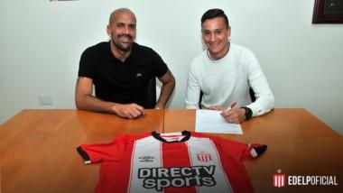 Zuqui firmó contrato con Estudiantes (LP) por 4 años.  El equipo platense compró el 50% del pase.