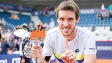 El correntino Leonardo Mayer, de campeón de Hamburgo a jugar la qualy del US Open.