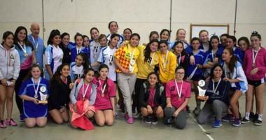 Los deportistas con sus medallas. Esta instancia de los Evita reunió a 1.600 chicos de toda la provincia.