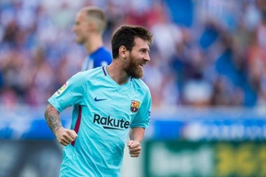ionel Messi fue el héroe de FC Barcelona ante Alavés por la liga española.
